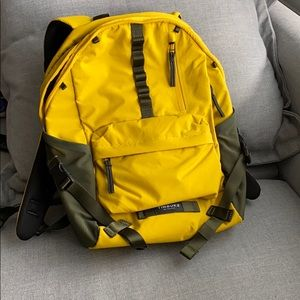 Timbuk2 Backpack, mustard, brand new
